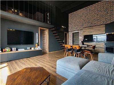 Apartament deosebit de tip loft, 3 camere, parcare, Central, NTT Data