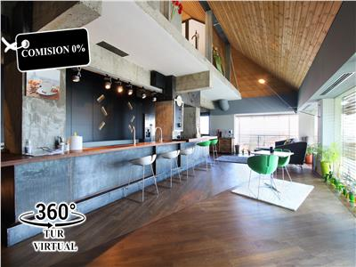Penthouse ultramodern, design unic, 204mp terasa 33mp, Andrei Muresanu